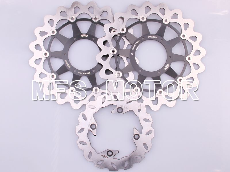 Front Rear Brake Rotors Disc For Honda CBR1000RR 2006-2007