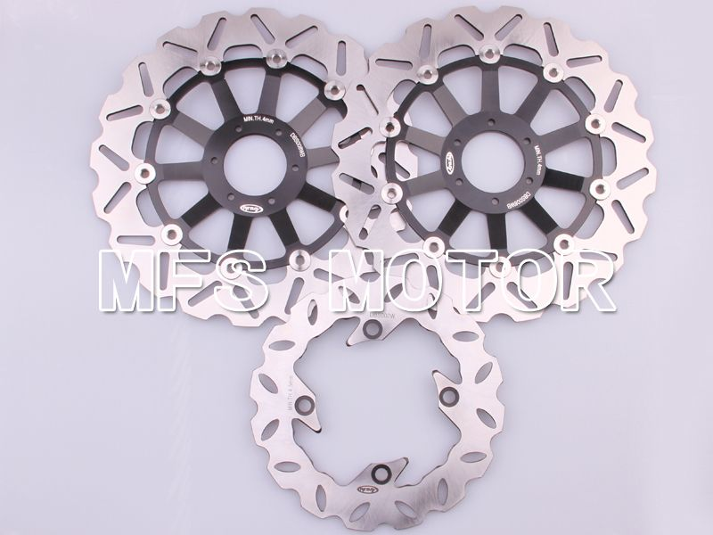 Front Rear Brake Rotors Disc For Honda CBR600 F3 95-98 CBR900RR 893 94-97