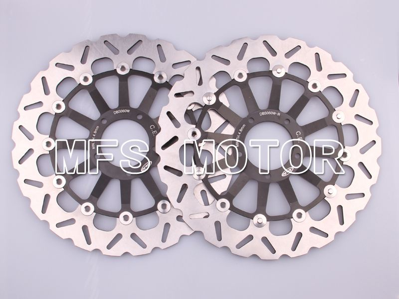 Front Brake Rotors Disc For Ducati 1098 1198 07-11