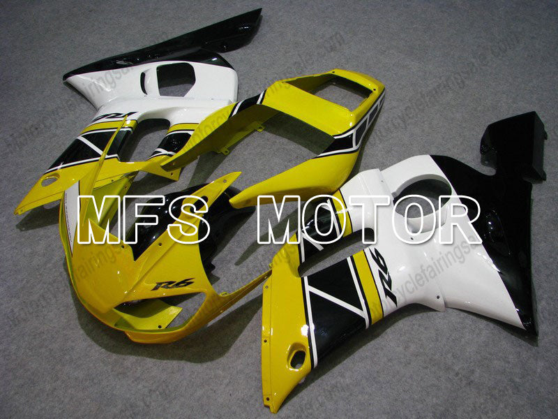 Injection ABS Fairing For Yamaha YZF-R6 1998-2002 - Factory Style - Black White Yellow - MFS8264 - shopping and wholesale