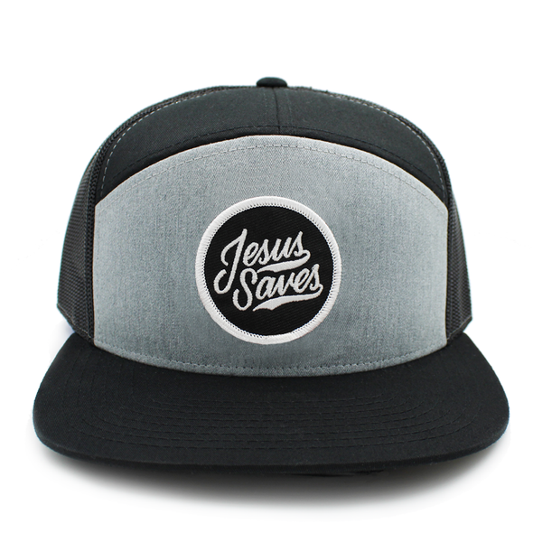 Jesus Saves risen apparel christian trucker snapback cap hat