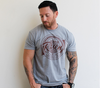 He is Risen Gray tee