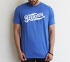 Believer blue tee
