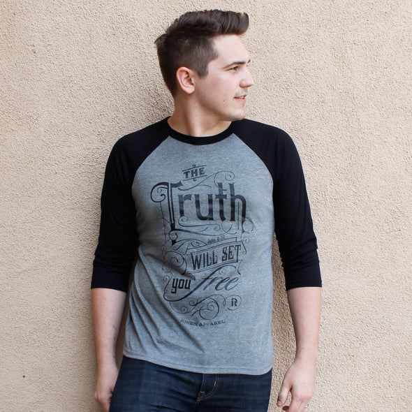 The truth baseball tee