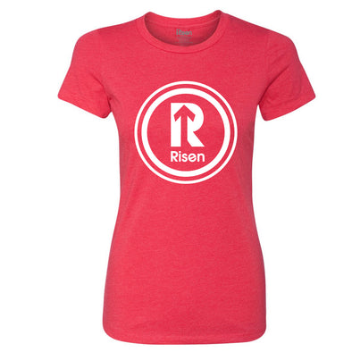 Risen Logo Women's Red T-Shirt