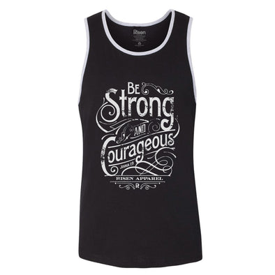 Strong and Courageous Men's tank top