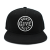 Don't give up black risen apparel christian snapback for kids