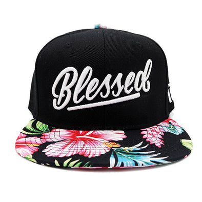 Blessed floral snapback