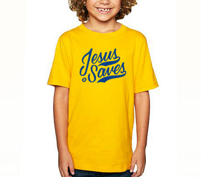 Jesus saves kids tee