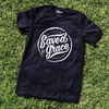 Saved by grace black tee