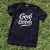God is good black Unisex Tee