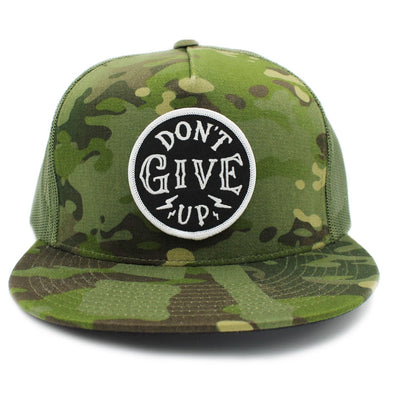 Don't give up risen apparel christian snapback by Risen Apparel