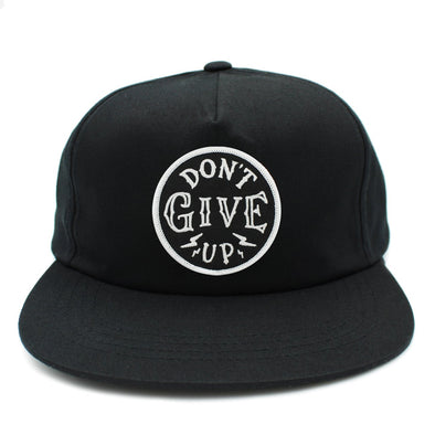 Don't give up risen apparel christian snapback Christian clothing