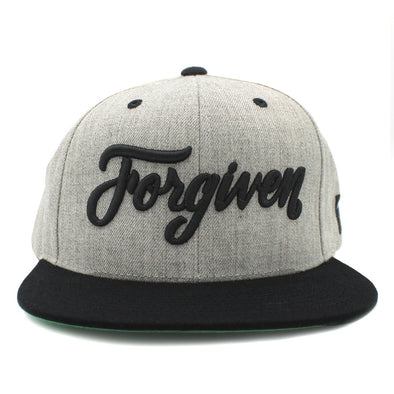 Forgiven by Jesus Christ Risen Apparel Snapback Christian Clothing