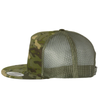 rise and shine for The Lord risen apparel camo army trucker snapback