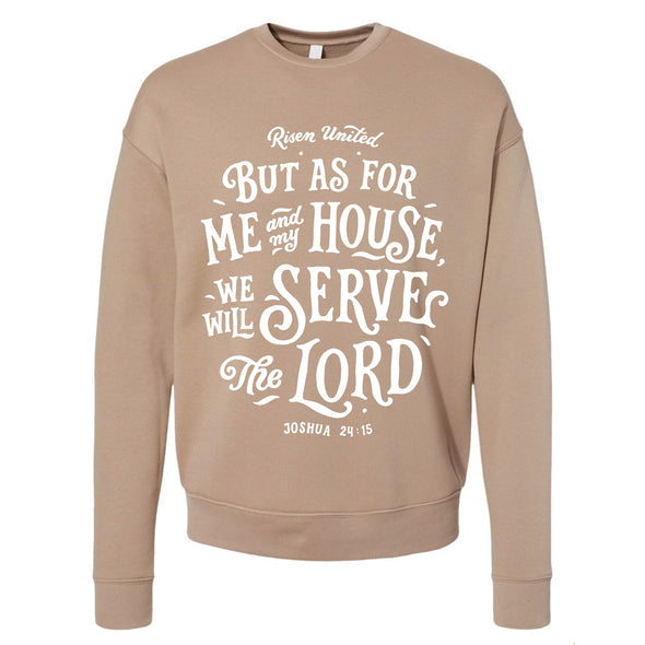 Serve The Lord fleece