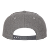Don't give up heather gray snapback