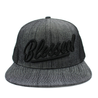 blessed risen apparel trucker snapback
