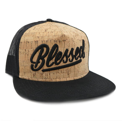 Blessed cork trucker hat