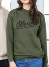 blessed militarty camo army green by risen apparel christian clothing