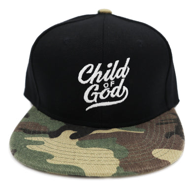 Army / camo KIDS Child of God snapback (Jr.)