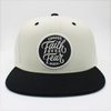 Pearl / white and black Choose faith over fear snapback