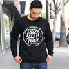 Choose faith over fear fleece