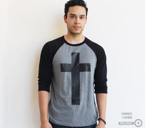 Cross Baseball tee