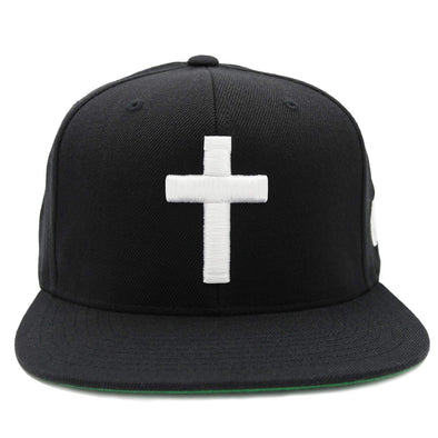 Cross black snapback