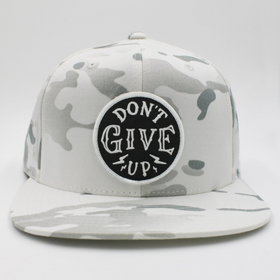 White Camo/Army Don't give up snapnack