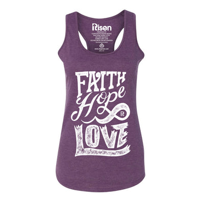 Faith Hope Love Red Women's tank top