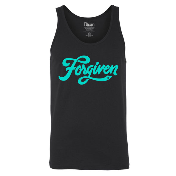 Forgiven black Tank Top