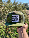 God's got my back Camo trucker hat