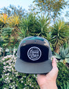 Saved by grace army 5 pannel snapback