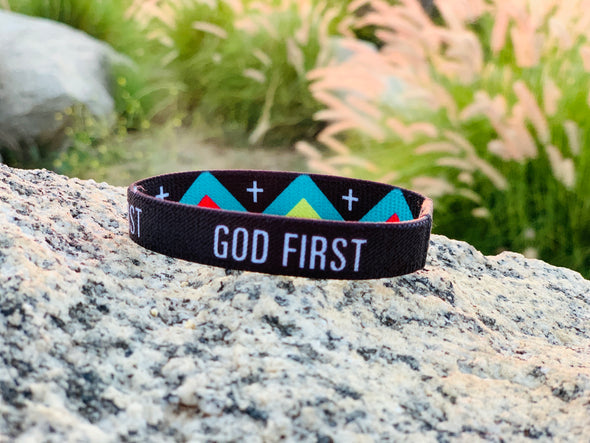 God first Elastic Band