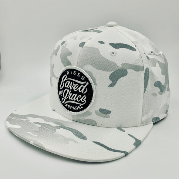 White Camo/Army saved by grace snapnack