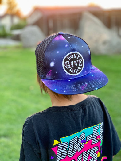 Space trucker snapback Don't give up (Jr.)