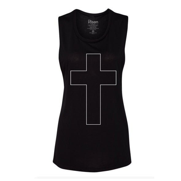 NEW Cross Flowy Muscle Tank black