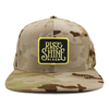 Rise and shine new camo brown snapback