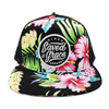 saved by grace risen apparel floral trucker snapback