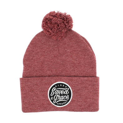 saved by grace risen apparel christian clothing beanie