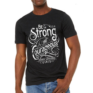 strong and courageous-black-t-shirt-by-risen-apparel