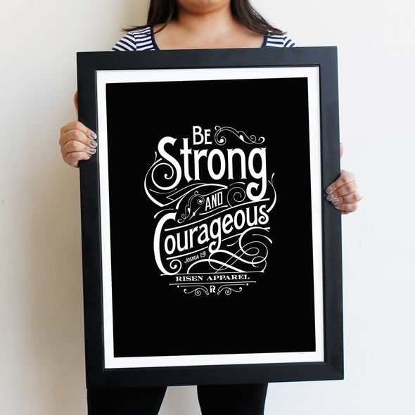 Strong and Courageous Poster