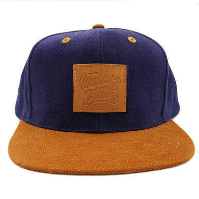 Suede Hat Walk by faith leather patch