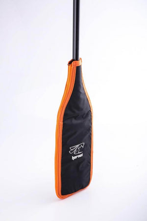 Hornet Paddle Blade Cover (Black/Orange/Silver) - Hornet Europe - 4