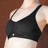 "Merino Wool Sports Bra – ""Baa Bra"""