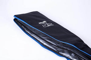 Dragon Boat Double Paddle Bag (Black/Silver/Blue) - Hornet Europe - 1