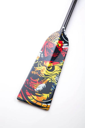 NEW - Dragon Master Hornet STING G22 Boat Paddle IDBF Approved Adjustable and fixed length