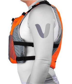 Vaikobi - V3 Ocean Racing PFD - Fluro Orange/Grey