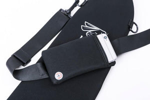 Neoprene Half Paddle Bag with Phone Case